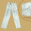 ホシ服装 #680 スラックス ライトグレー W88×78