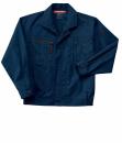 ホシ服装 #685 長袖ブルゾン ダークネイビー 3L