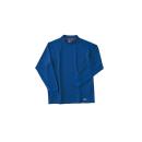 ホシ服装 226 長袖ローネック 5ロイヤルブルー M