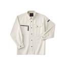 ホシ服装 653 長袖シャツ 1アイボリー M