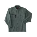 ホシ服装 653 長袖シャツ 2オリーブドラブ M