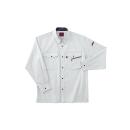 ホシ服装 #463 1 M 長袖シャツ ストーン