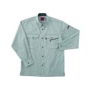 ホシ服装 #463 3 M 長袖シャツ アース