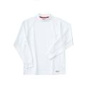 ホシ服装 225 長袖ポロシャツ 1ホワイト M