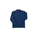 225 長袖ポロシャツ 6:ネイビー L