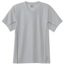ホシ服装 #274 ハイパフォーマンスTシャツ 20シルバー L