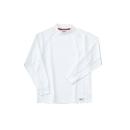 ホシ服装 226 長袖ローネック 1ホワイト M