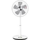 立体首振りリビング扇風機 YLRX−BKD301(ホワイト)