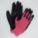 ユニワード 農家さん手袋 ピンク Lサイズ NSR45