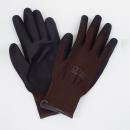 ユニワード 農家さん手袋 ブラウン Sサイズ NSR45