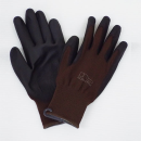 ユニワード 農家さん手袋 ブラウン Lサイズ NSR45