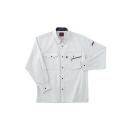 ホシ服装 #463 1 L 長袖シャツ ストーン