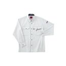 ホシ服装 #463 1 LL 長袖シャツ ストーン