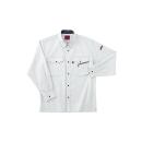 ホシ服装 #463 1 3L 長袖シャツ ストーン