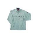 ホシ服装 #463 3 L 長袖シャツ アース