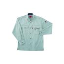 ホシ服装 #463 3 3L 長袖シャツ アース