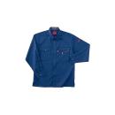 ホシ服装 #463 6 LL 長袖シャツ ネイビー
