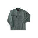ホシ服装 653 長袖シャツ 2オリーブドラブ L