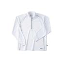 ホシ服装 229 長袖ZIPシャツ 10 ホワイト 3L