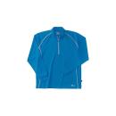 ホシ服装 229 長袖ZIPシャツ 50 ブルー 4L