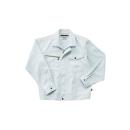 ホシ服装 855 ジャケット 1 ホワイトグレー 3L