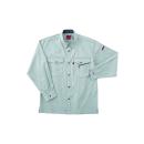 ホシ服装 #463 3 LL 長袖シャツ アース