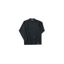 ホシ服装 226 長袖ローネック 4ブラック L