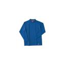ホシ服装 226 長袖ローネック 5ロイヤルブルー L