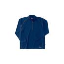 ホシ服装 229 長袖ZIPシャツ 60 ネイビー 5L
