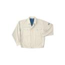 ホシ服装 #P1351 3L 年間ブルゾン アイボリー