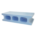発泡スチロールブロック ライトブルー 390×190×100