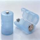 スマイルキッズ 単3が単1になる 電池アダプター 2個入 ブルー ADC−310BL
