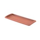 鉢皿 クイーンプレート 350型 ブラウン