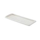 鉢皿 クイーンプレート 350型 ホワイト
