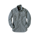 EVENRIVER(イーブンリバー) エアーライトシャツ [SR−2006] ヒッコリー M
