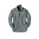 EVENRIVER(イーブンリバー) エアーライトシャツ [SR−2006] ヒッコリー LL