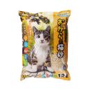 しっかり固まる おからの猫砂 12L