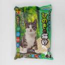 しっかり固まる ひのきの猫砂 6L