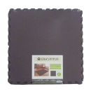 イエモア ジョイントマット 60×60 4枚入 ブラウン