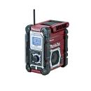 マキタ(makita) Bluetooth対応 充電式ラジオ MR108AR(限定色:オーセンティックレッド) 本体のみ