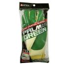 ゴム張り手袋 パームグリーン フリーサイズ 1双