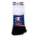 靴下 チャンピオン  5本指ショート 25−27cm 3足組 (白) CMSCG306