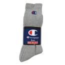 チャンピオン 靴下 フルレングス 25−27cm 3足組 (Hグレー) CMSCH002
