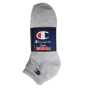 チャンピオン 靴下 ショート 25−27cm 3足組 シルバーグレー CMSCH302