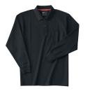 ホシ服装 235 長袖ポロシャツ 4ブラック L