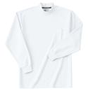 ホシ服装 236 長袖ハイネック 1ホワイト L