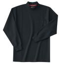 ホシ服装 236 長袖ハイネック 4ブラック LL