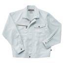 ホシ服装 855 ジャケット 1ホワイトグレー 4L