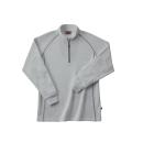 ホシ服装 249 裏起毛ZIPシャツ 20ライトグレー M