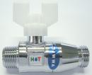 ホット 逆止弁付ボールバルブ C31G−02